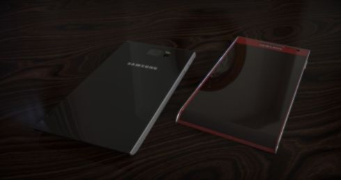 Samsung Galaxy Round 2 SGH 930 Concept Puts the Curved Screen on the Bottom (Video)
