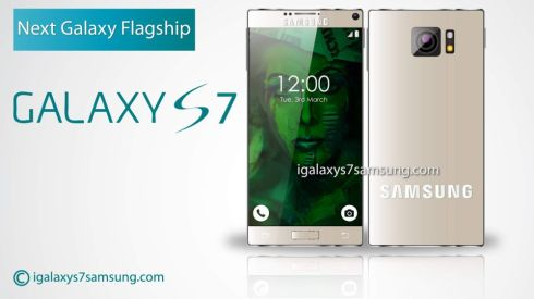 Samsung Galaxy S7 Concept Already Envisioned, Eliminates Bezels, Goes Rectangular