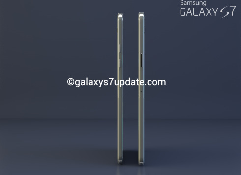 Samsung Galaxy S7 Design Envisioned by Rishi Ramesh