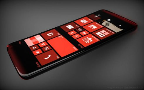 Transparent Windows Phone concept 2