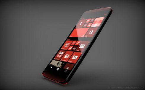 Transparent Windows Phone concept 3