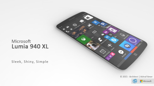 Microsoft Lumia 940 XL concept 1
