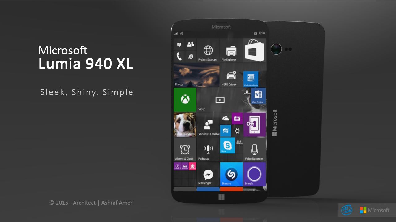 ... Gets a Very Fresh Vision and Design From Ashraf Amer : Concept Phones