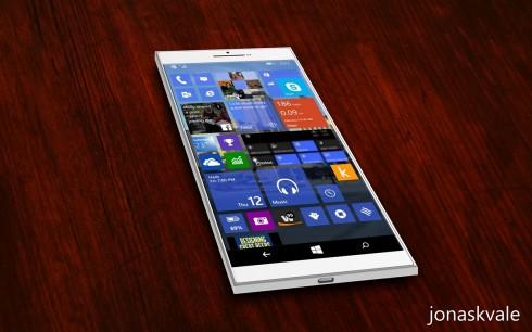Shine Windows Phone 10 concept 3