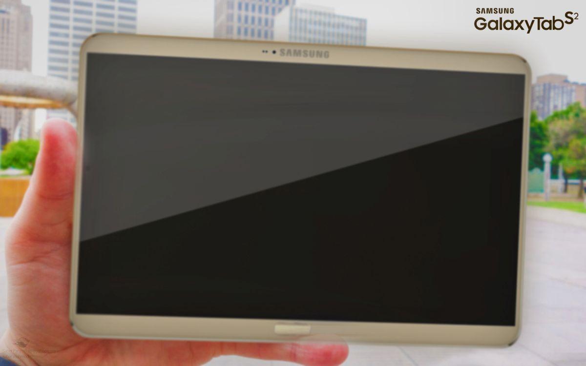 samsung galaxy tab s2 tablet rendered by saber mahmodi
