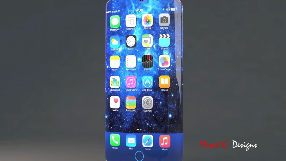 Iphone 7 Edge Concept Iron Man 6