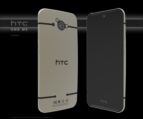 HTC One M8 redesign 1