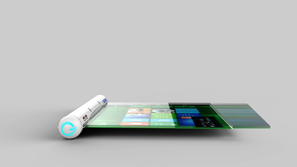 Prime Samsung Flexible Roll Tablet Concept Rolls Up Into A Best Image Libraries Counlowcountryjoecom
