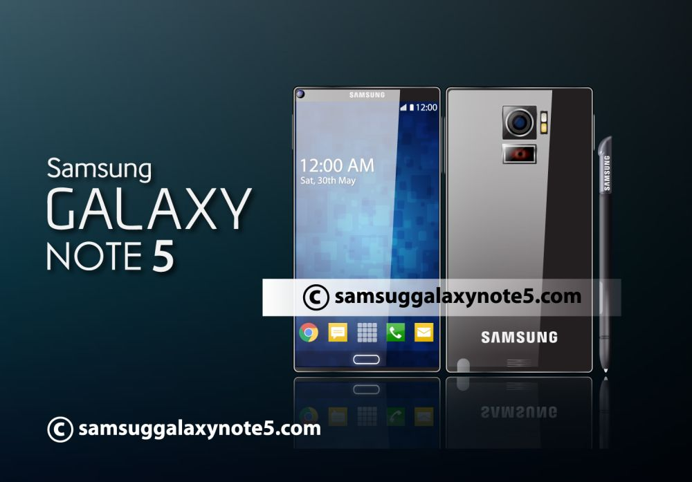 Samsung Galaxy Note 5 Concept Features 3LCD Projector At