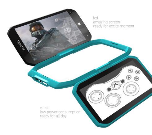 Alcatel Dual display Windows Phone concept 2