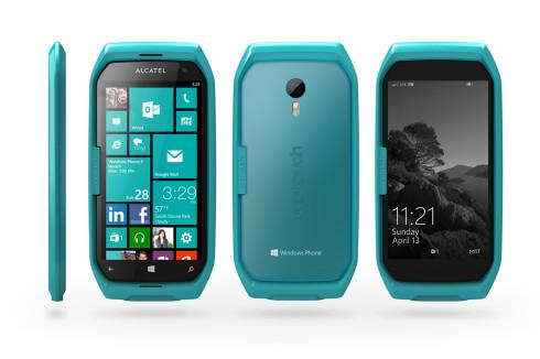 Alcatel Dual display Windows Phone concept 3