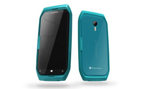 Alcatel Dual display Windows Phone concept 4