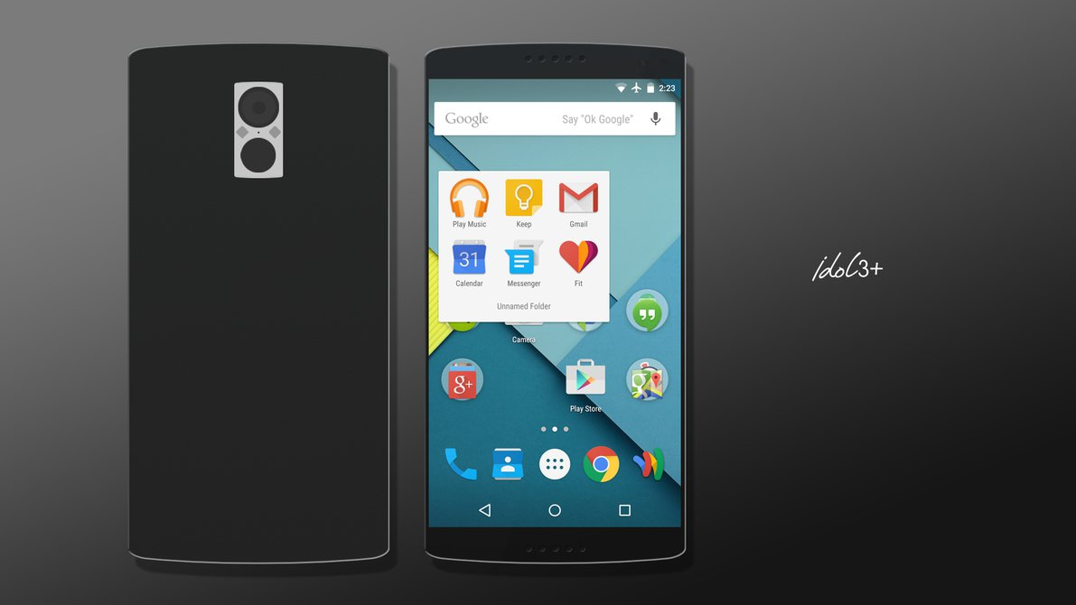 Phone Pure Android Phones alcatel onetouch idol 3 runs pure android m has a big battery battery