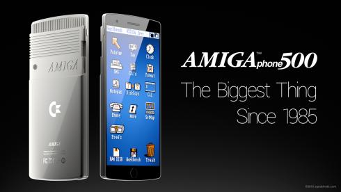 Commodore Amiga 500 phone concept 1