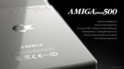 Commodore Amiga 500 phone concept 2