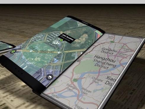 Dual display Xperia concept 4