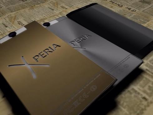 Dual display Xperia concept 6
