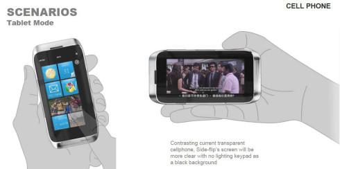 Motorola transparent screen smartphone concept 3