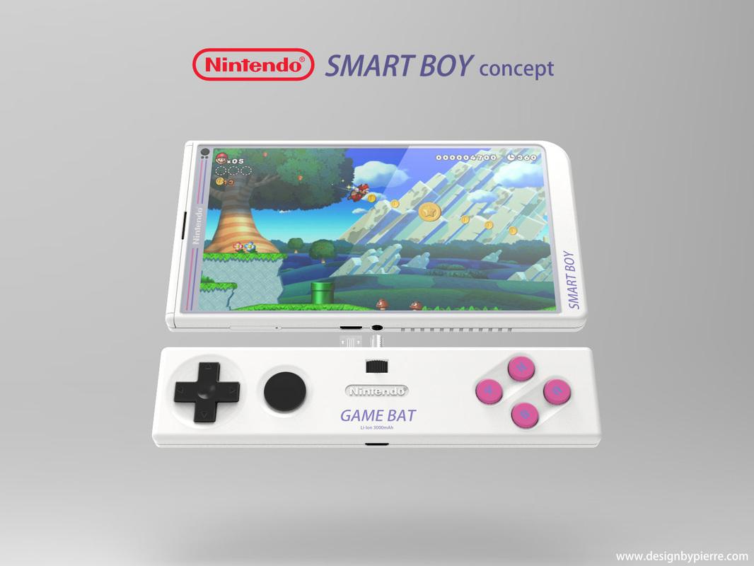Nintendo Smart Boy Concept Is A Retro Gamer S Wet Dream