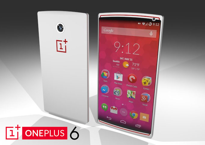 oneplus six rendered by enthusiastic designer it s a big