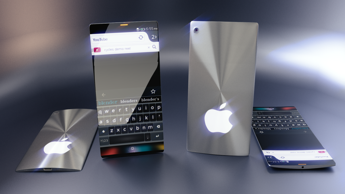 iPhone 7 Curved Metal Concept Enters Deviantart Competition  Concept