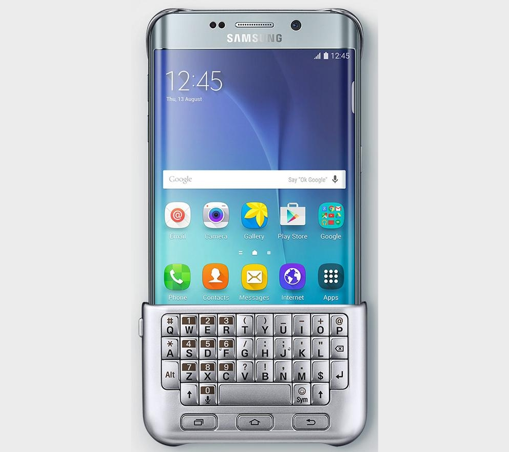 samsung galaxy s6 edge plus may get funky keyboard cover. Black Bedroom Furniture Sets. Home Design Ideas