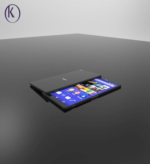 Sony Xperia Z5 concept Kiarash Kia 1
