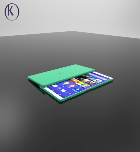 Sony Xperia Z5 concept Kiarash Kia 5