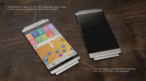 Sony Xperia Z5 techradar concept