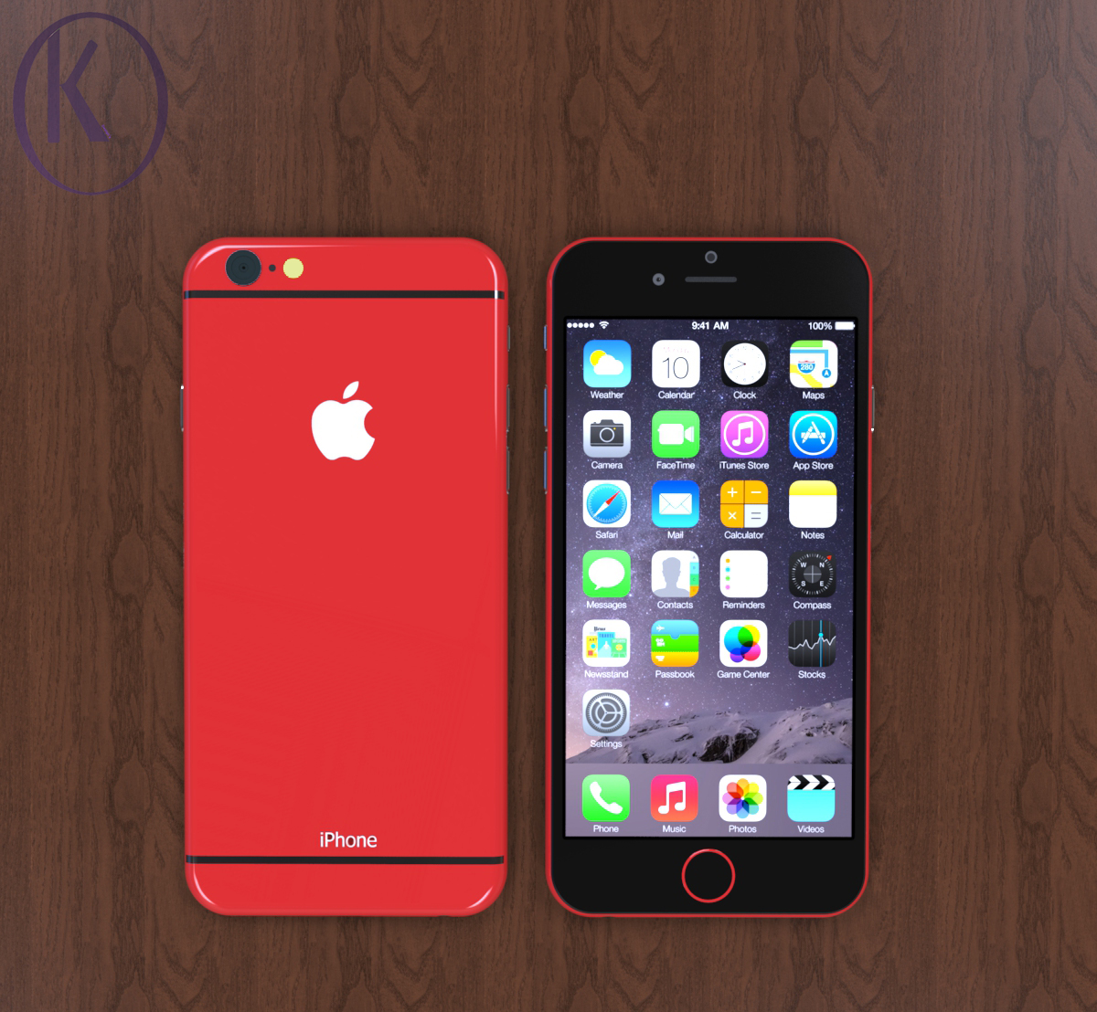 iphone 6c gets new design version from kiarash kia concept phones. Black Bedroom Furniture Sets. Home Design Ideas