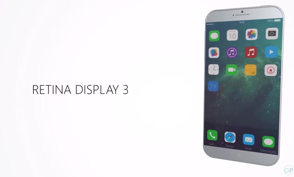 IPhone 7 IOS 10 Concept 1