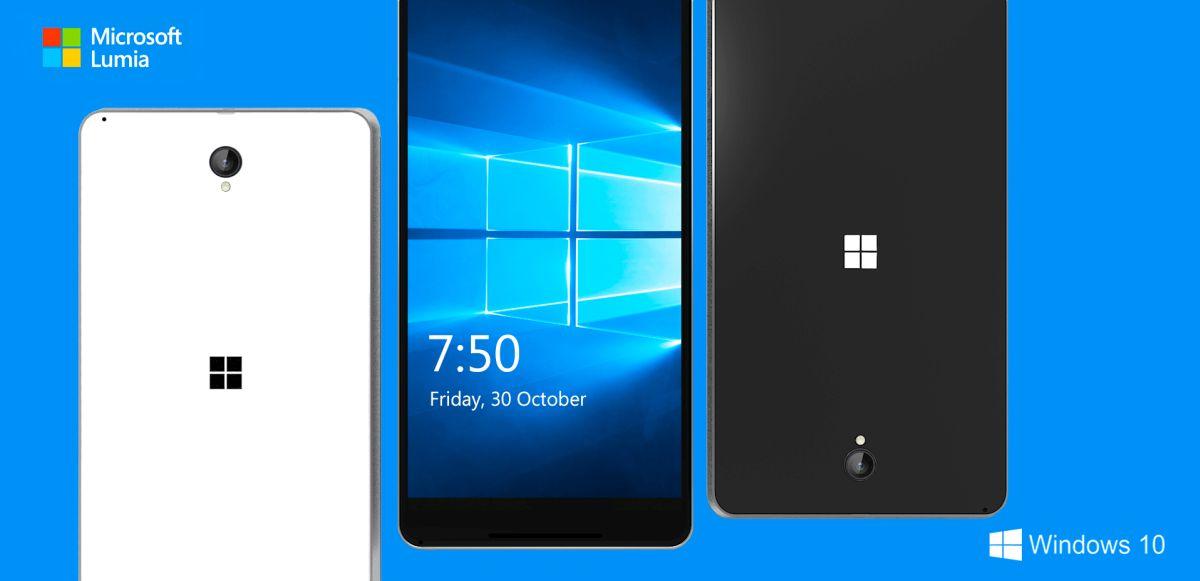 microsoft lumia 750 concept phones