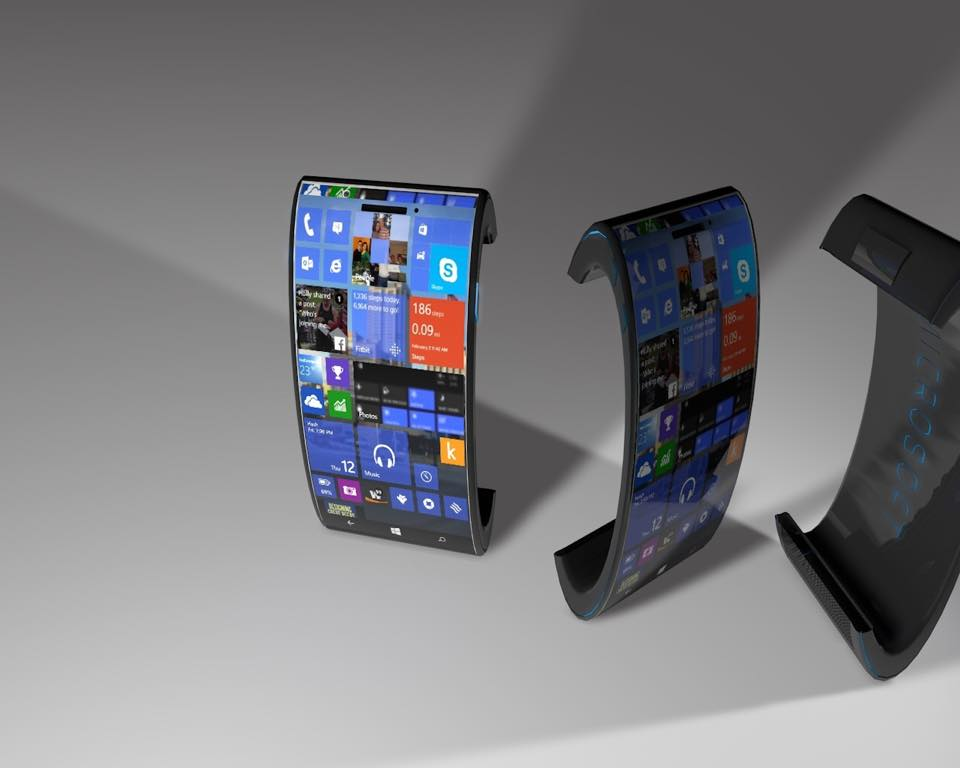 Microsoft Lumia 888 is a Fully Curved Phone, Rendered by ...