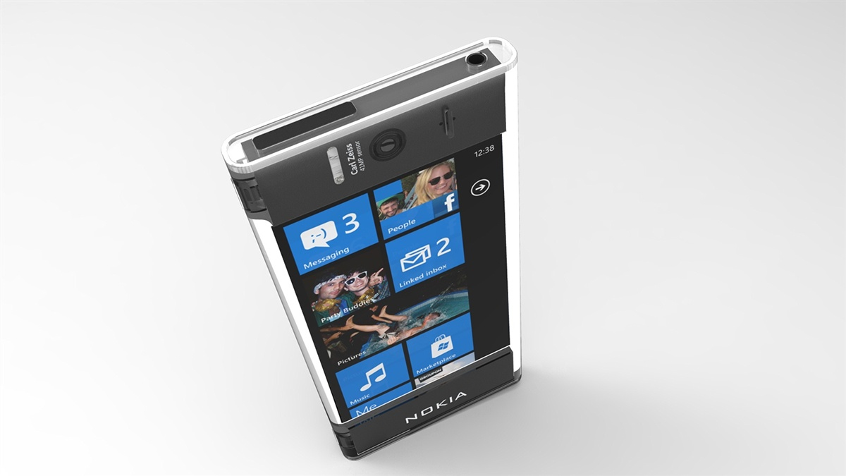 Nokia Transparent Phone Render Looks Stunning Is All Encased In Cell Cellphone 2