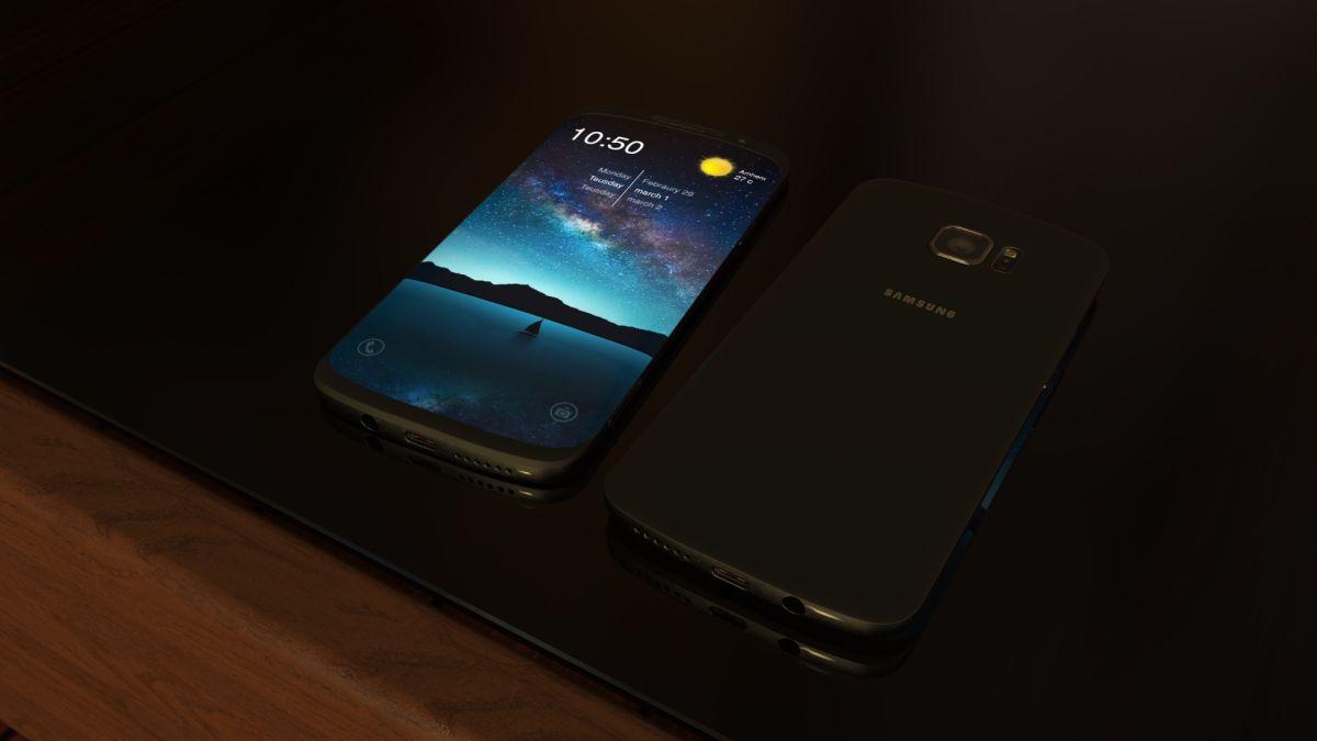 Samsung Galaxy S7 Edge concept Jermaine Smit 1