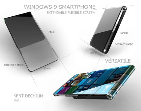 Windows 9 smartphone flexible 2