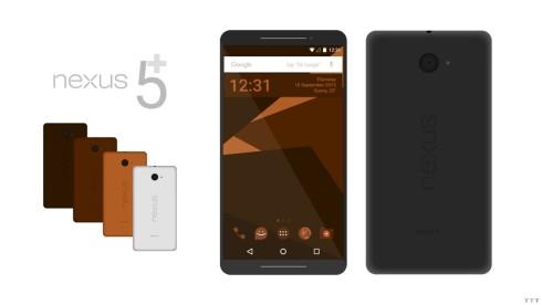 nexus 5 plus android nutella