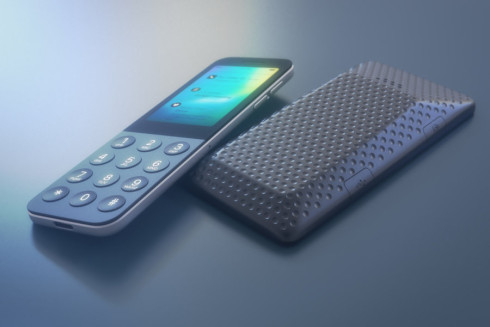 Apple iDot dumbphone concept 4