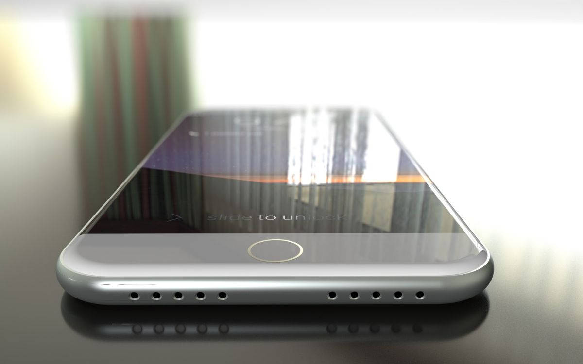iPhone 7 Envisioned With Wireless Charging  Concept Phones