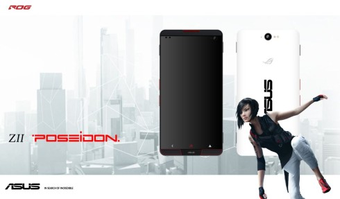 ASUS Z2 Poseidon concept phone for gamers 1