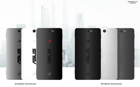 ASUS Z2 Poseidon concept phone for gamers 3