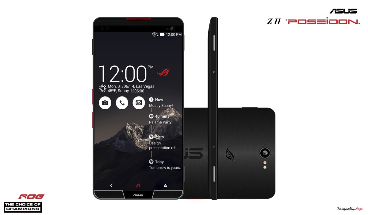 Phone Android Gaming Phone asus z2 poseidon is a smartphone for extreme gamers with great concept phone 6