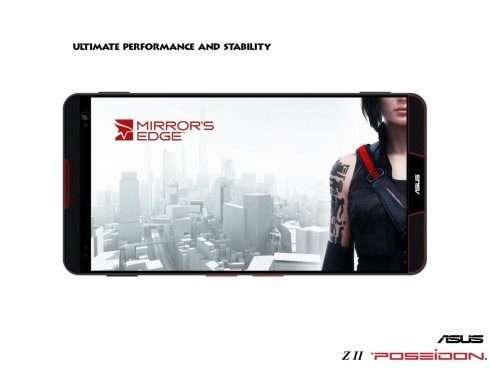 ASUS Z2 Poseidon concept phone for gamers 7