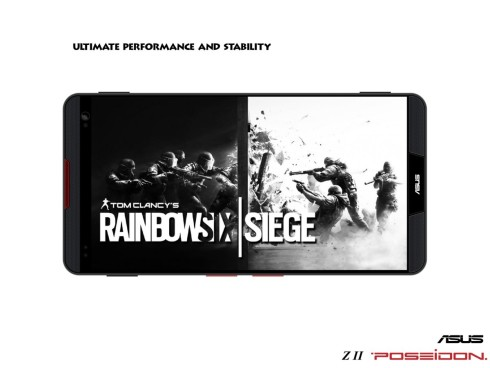 ASUS Z2 Poseidon concept phone for gamers 8
