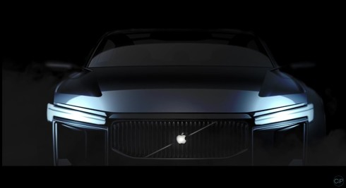 Apple car concept Luca Wrede 1