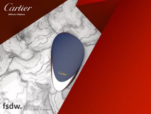Cartier Millenaire concept phone 2