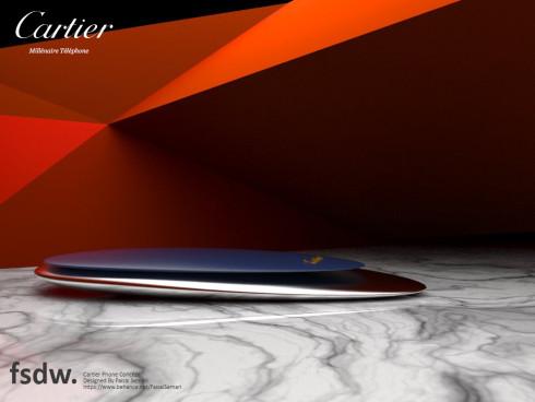 Cartier Millenaire concept phone 3