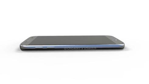 Samsung Galaxy S7 3D mockup onleaks 3
