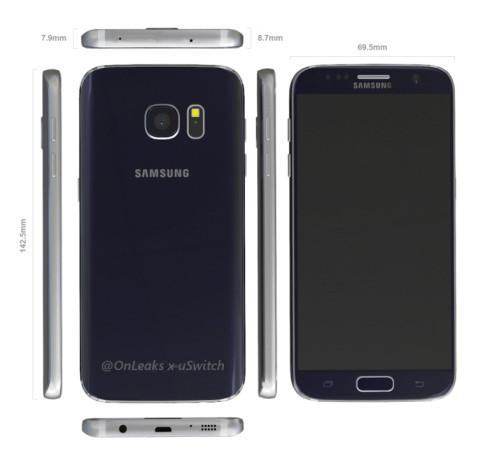 Samsung Galaxy S7 3D mockup onleaks 4