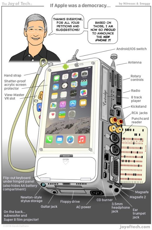 iphone 7 ideal tim cook joy of tech parody